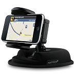 Naztech Universal 2-in-1 Dash and Window Mount for Phones PDAs MP3 Players and More