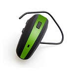 NoiseHush N500 Bluetooth Headset Black and Green