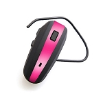 NoiseHush N500 Bluetooth Headset Black and Hot Pink