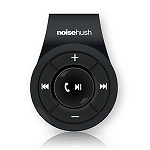 NoiseHush NS560 Clip-on Bluetooth Stereo Headset - Black