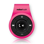 NoiseHush NS560 Clip-on Bluetooth Stereo Headset - Pink